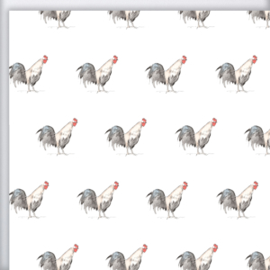 Rooster Gift Wrap